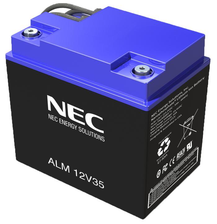 NEC ALM Battery
