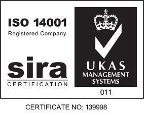 ISO 14001 environmental system logo